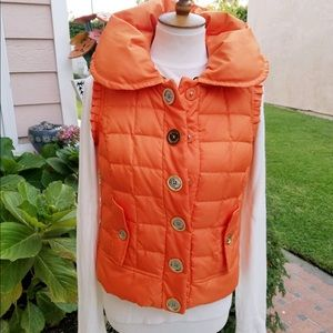 Juicy Couture Quilted Bubble Vest.